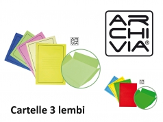 CARTELLE 3 LEMBI CON STAMPA ARCHIVIA