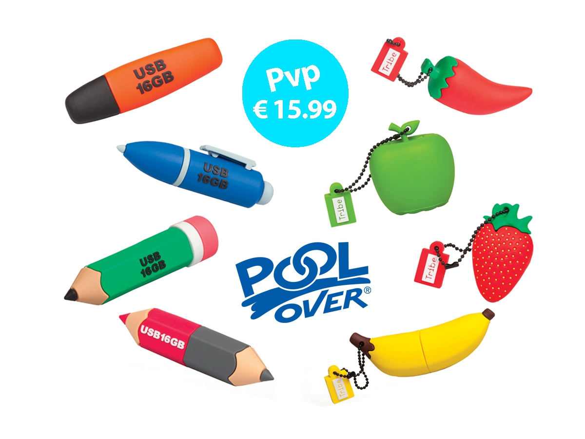 PENDRIVE STATIONERY POOL OVER 16 GB