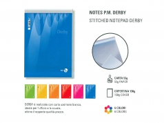 BLOCCHI NOTES DERBY BM
